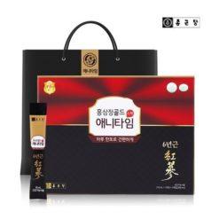 종근당 홍삼정 애니타임 골드 스틱 (10ml x 10포) x 3개입